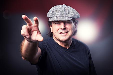 AC/DC Brian Johnson Double Mathias Wieczorek